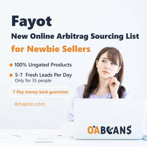 100% ungated leads online arbitrage sourcing list for Amazon newbie seller