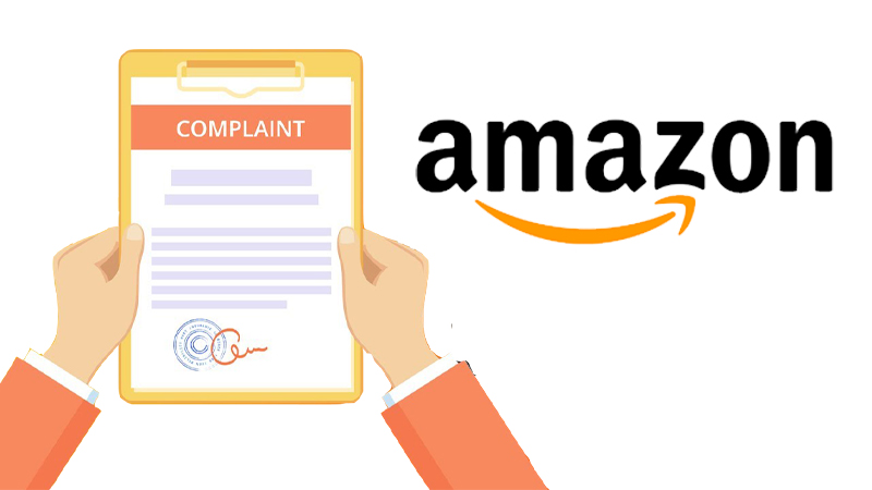 Complaint on Amazon