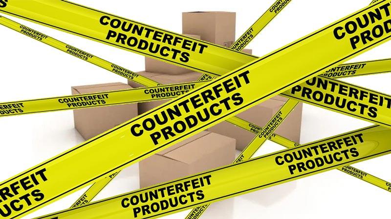 Counterfeit Products on amazon