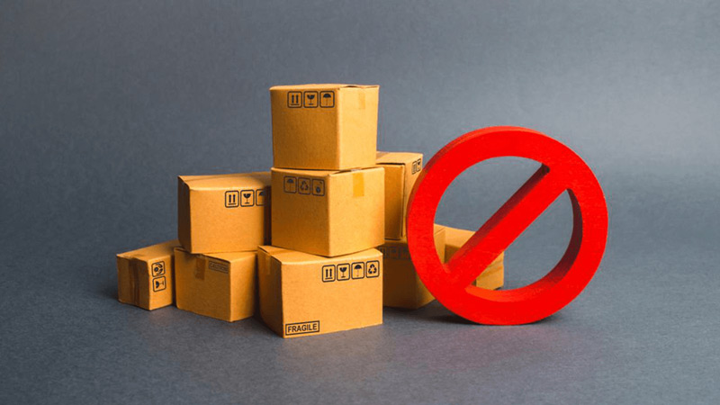 Products that are prohibited on Amazon