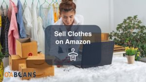 A woman is packing the clothes which she sold them from Amazon